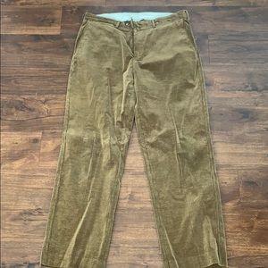Facconable corduroy pants